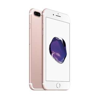 Apple iPhone 7 Plus 128GB Rose Gold Garansi Internasional