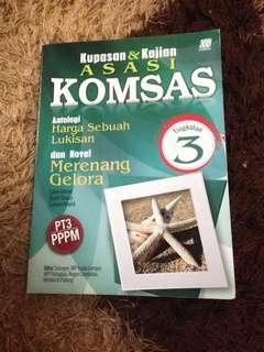 Komsas-Antologi & Novel(Form 3)