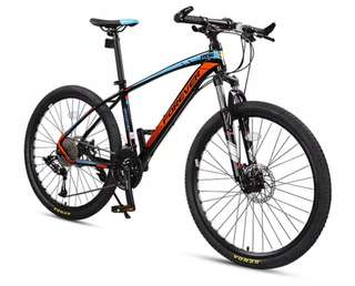 """➡Mountain Bike Forever R06 27.5"""" Aluminum Frame Hydraulic Disc Brakes 33-Speed Configuration (4 Colors)"""
