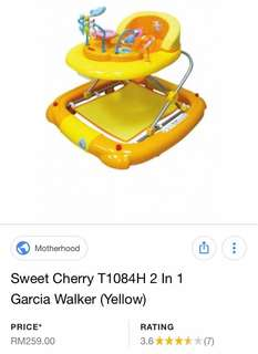 [PL] sweet cherry Baby Walker 2 in 1 ((SELF COLLECT))