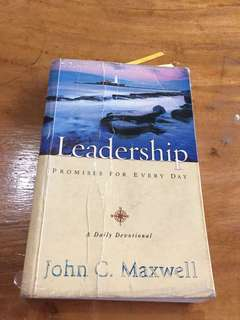 Leadership Promises for Everyday by John Maxwell