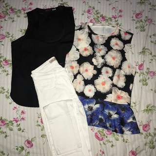ZARA BUNDLE! 2 tops + pants