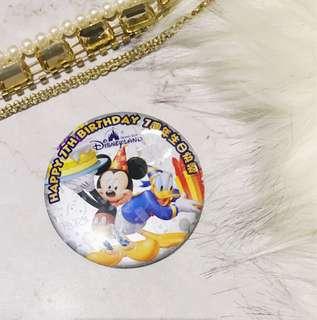 贈送-全新迪士尼別針