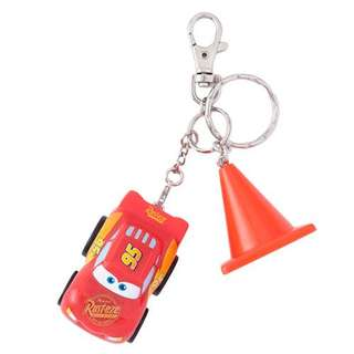 日本迪士尼 反斗車王 麥昆 鎖匙扣 keychain Cars Lightning McQueen
