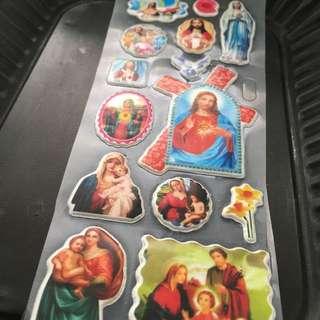 🚚 - 耶穌愛你凸版貼紙 Old Cult