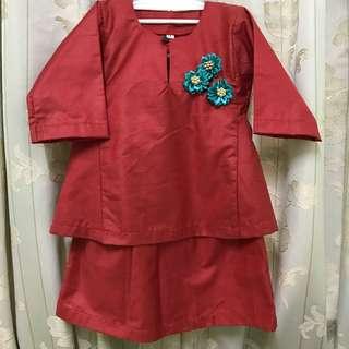 Baju Kurung Pahang 1-2 years