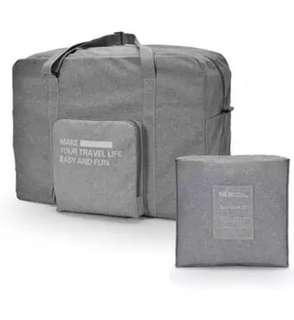 Travel bag duffel cabin carryon luggage foldable
