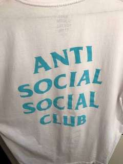 Anti Social Social Club Tee Tiffany Blue #mausupreme