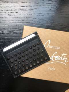 Brand new Louboutin studded cardholder