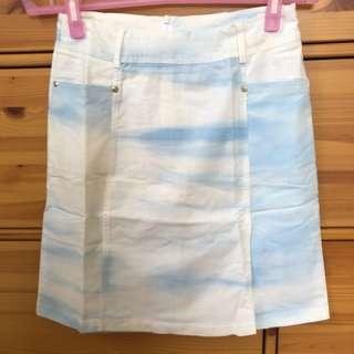 🚚 暈染樣式設計 短裙
