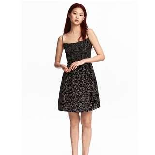 H&M Dress with Ruffles (Polka-dot)