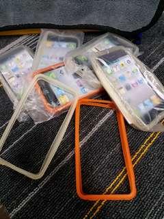 HK$6/1PC,  HK$7/7PCS ~ Bumper for iPhone 4G 保護邊 iPhone 4G合用