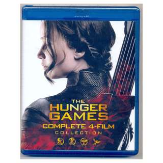 The Hunger Games Collection - New Blu-Ray