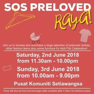Preloved Raya Project