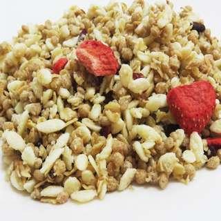 🚚 穀物水果麥片/原味口味 150公克【寶島蜜見】