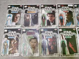 Marvel Star Wars Comic Books Action Figures Variant by John Tyler Christopher