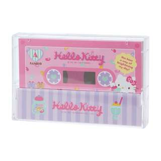Japan Sanrio Hello Kitty Cassette Tape Note
