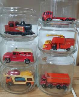 Matchbox cars ( 6 pcs )
