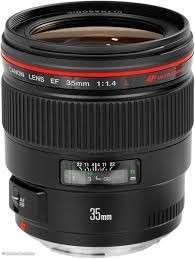 Canon 35mm f1.4L USM