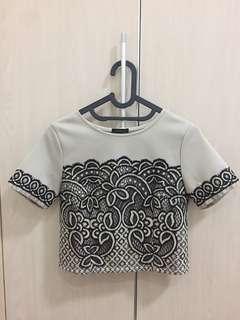 Cloth Inc lace top