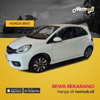 Nemob Ramadhan Sale. Promo sewa mobil Brio Satya lepas kunci (self drive) di Jakarta.