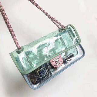 Transparent Luxury Chanel Bag