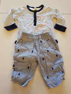 Hush Puppies Baby Boy Set