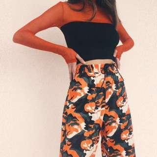 Tiger camo pants