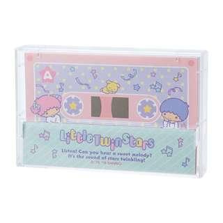 Japan Sanrio Little Twin Stars Cassette Tape Note