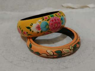 Handpainted indian bangles