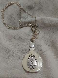 Vintage perfume necklace