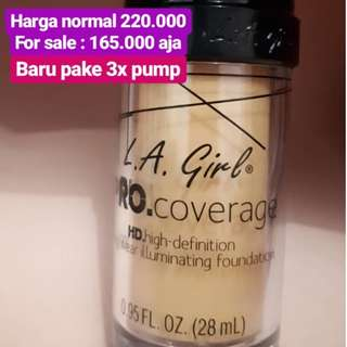 Pre Loved L.A. Girl PRO.Coverage
