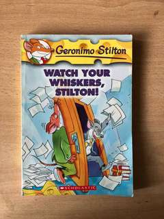 Geronimo Stilton- Watch Your Whiskers Stilton
