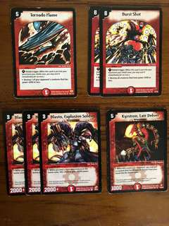 Duel Masters Fire Staplers