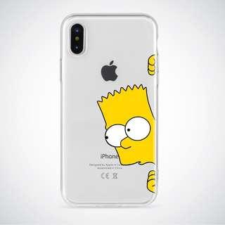 CLEAR CASE iPhone 5, 5s, SE, 6, 6 PLUS 7,8,x
