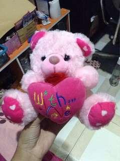 Bones teddybear