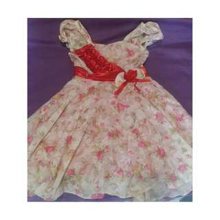 Girl's Dress 2-4t