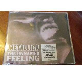 Metallica The Unnamed feeling 4 Track CD single rare St Anger used