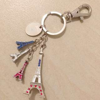EIFFEL TOWER KEY CHAIN THE PARISAN MACAO FRENCH STYLE