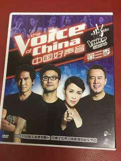 Voice of China season 3 - DVD