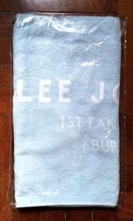 Cnblue LJH 1st fan meeting ~ face towel