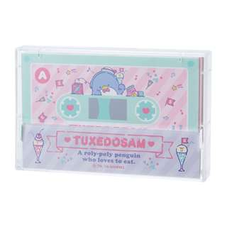 Japan Sanrio Tuxedo Sam Cassette Tape Note