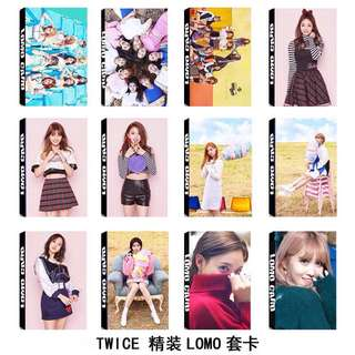 Twice lomo card