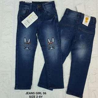 Jeans girl (2-8 tahun)
