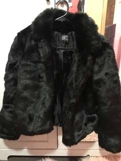 Princess Polly faux fur coat
