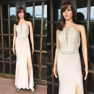 Nude gown