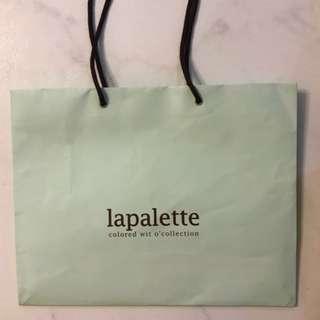 Lapalette Paper Bag
