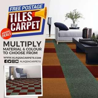 Carpet Tiles Best Free Postage Offer!