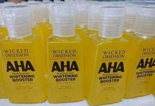 💛WICKED OBSESSION AHA WHITENING BOOSTER💛