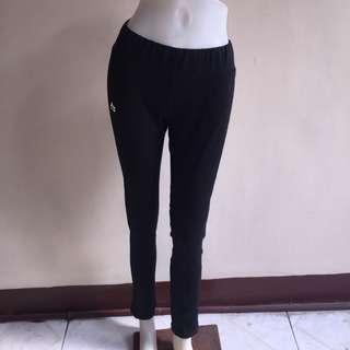 RNX REEBOK black gartered leggings/jogging/zumba pants small
